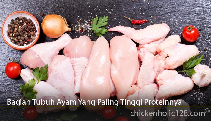 Bagian Tubuh Ayam Yang Paling Tinggi Proteinnya
